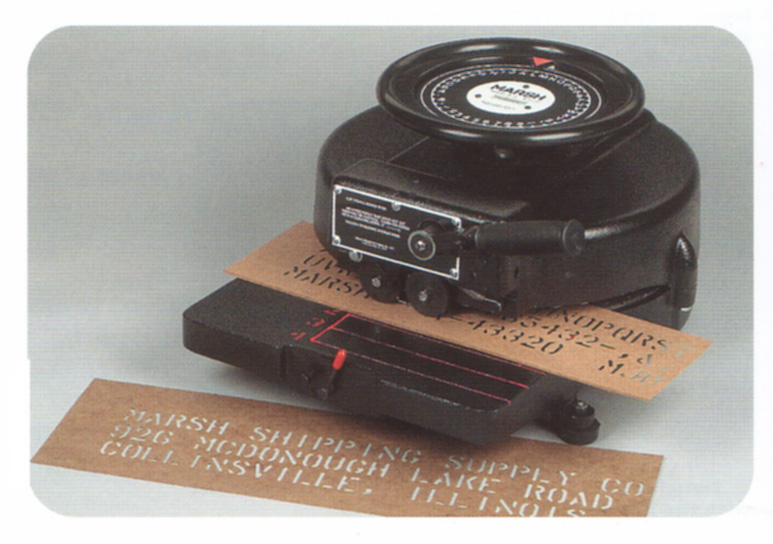 stencil marking machine